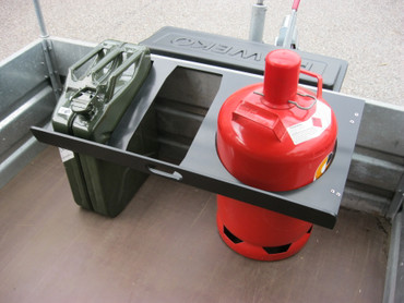 Ladungssicherung für Benzinkanister und Gasflaschen – Bild 2