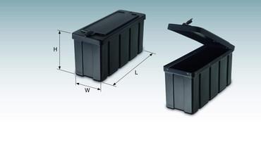 Staubox für Anhänger | Deichselbox – Bild 2