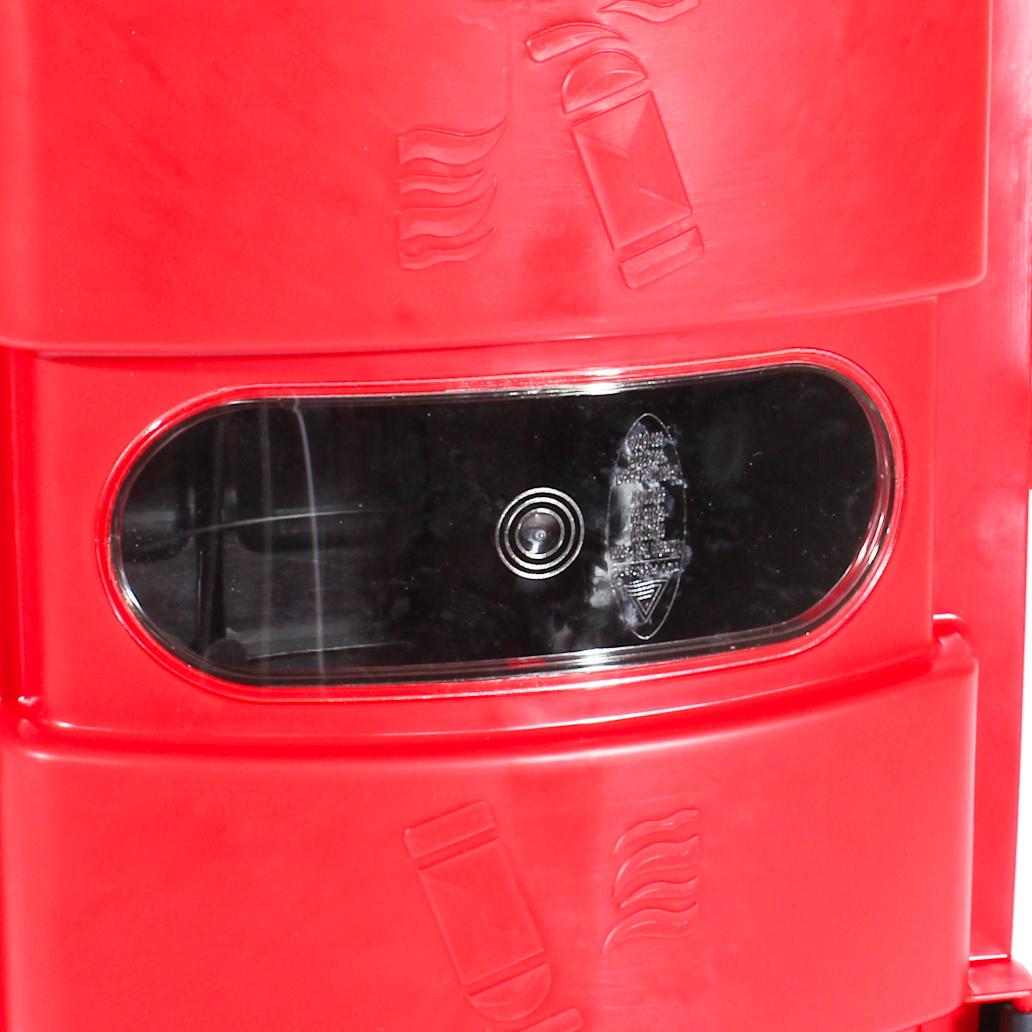 Kleine Sichtfenster vom Feuerlöscherkasten rot 6 kg LKW