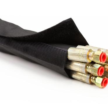 Kabelschutzschlauch mit Klettverschluss Ø 20-120mm – Bild 1
