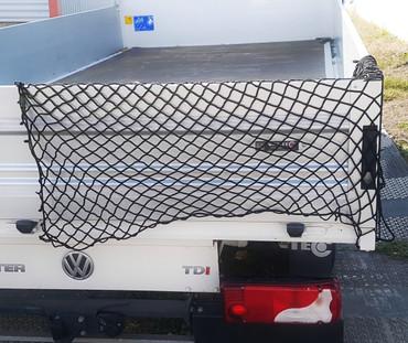 Gummi Anhängernetz 200 x 150 cm | schwarz – Bild 2