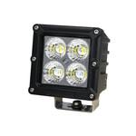 4 LED Arbeitsscheinwerfer eckig | 20W | 60°