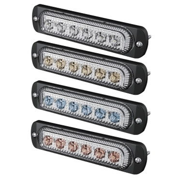 Alu LED Blitzleuchte 12/24 V | 3 Watt – Bild 1