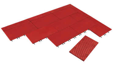 Elastikplatte 500x500x30