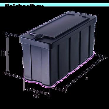 R03 Deichselbox für Anhänger 500x220x205mm – Bild 2