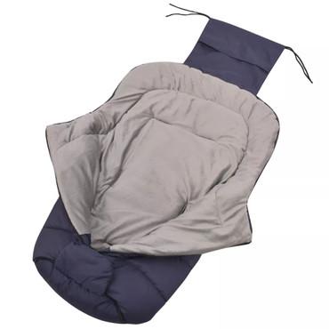 vidaXL Baby-Fußsack / Kinderwagen-Schlafsack 90 x 45 cm Marineblau