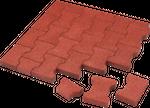 Elastikpflaster halbe Steine