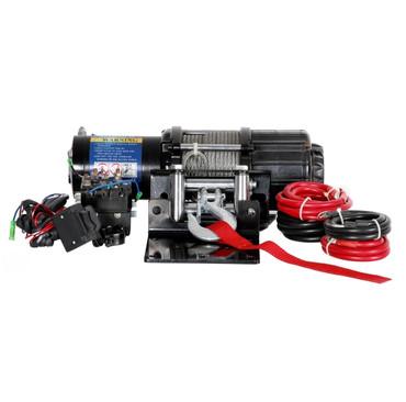 Motor Seilwinde Set 12V - 3150kg - Stahlseil – Bild 1