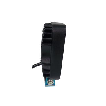 LED Arbeitsscheinwerfer 12V eckig 27W – Bild 3