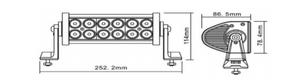 LED Arbeitsscheinwerfer 36 Watt | 2300 lm – Bild 2