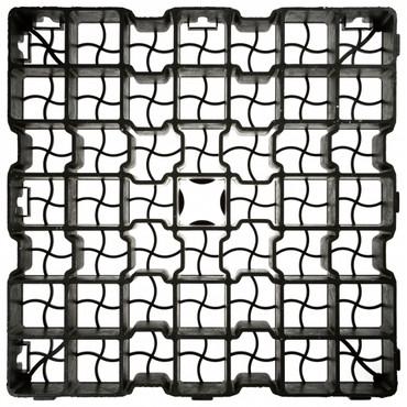 Rasengitter Paddockplatte 500x500x30mm – Bild 2