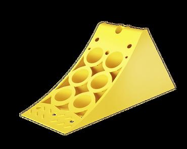 Hemmschuh aus Kunststoff | E36 | 332x125x150mm – Bild 1