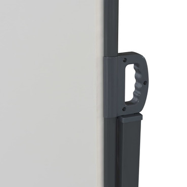 Ausziehbare Seitenmarkise 200x600 cm Cremefarben – Bild 4