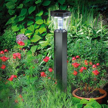 Brennenstuhl LED Garten-Solarleuchte SOL FL 13007 Aluminium 1170790 – Bild 1