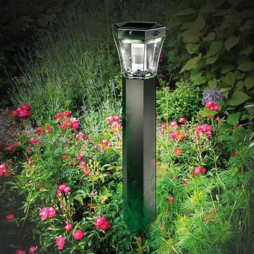 Brennenstuhl LED Garten-Solarleuchte SOL FL 13007 Aluminium 1170790 – Bild 2