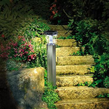 Brennenstuhl LED Garten-Solarleuchte SOL FL 13007 Aluminium 1170790 – Bild 3