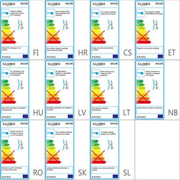GLOBO LED-Außenwandleuchte mit Sensor PROJECTEUR Aluminium Grau 34114S – Bild 3