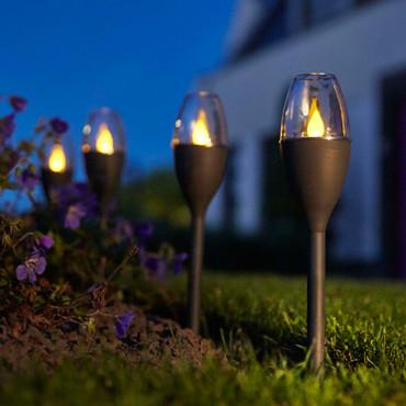 Solar LED Mini Garten-Wegeleuchten | 4 Stk. – Bild 5