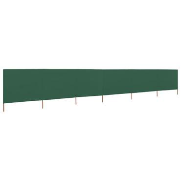 6-teiliges Windschutzgewebe 800 x 80 cm Grün – Bild 1
