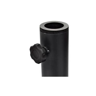 Sonnenschirmständer 30 kg Schwarz Stahl und Zement – Bild 3