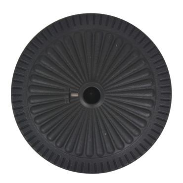 Sonnenschirmständer Harz Rund Schwarz 29 kg – Bild 4
