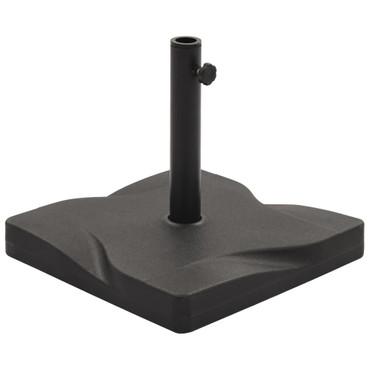 Sonnenschirmständer Schwarz Quadratisch 20 kg – Bild 1