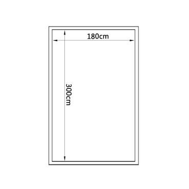 Gewächshaus Aluminium 302 x 190 x 195 cm 11,19 m³ – Bild 11