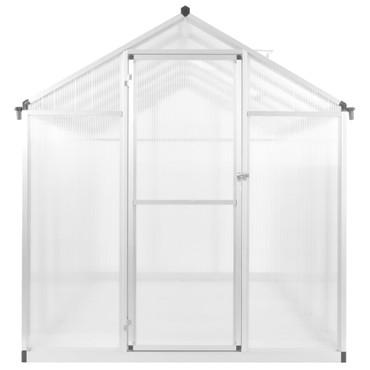 Gewächshaus Aluminium 302 x 190 x 195 cm 11,19 m³ – Bild 3