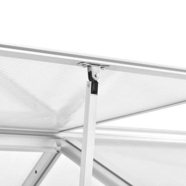 Gewächshaus Aluminium 302 x 190 x 195 cm 11,19 m³ – Bild 7