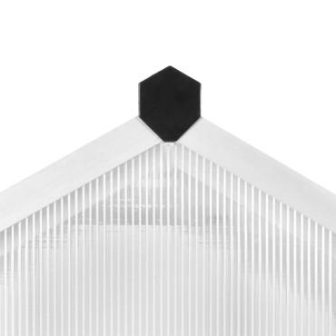 Gewächshaus Aluminium 362 x 190 x 195 cm 13,41 m³ – Bild 8