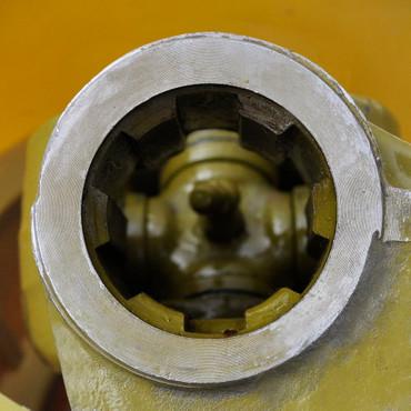 Zapfwelle Gelenkwelle 80 - 120 cm Traktor mit Schutz + Kette 6 Zähne – Bild 2