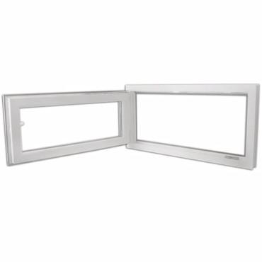 2 Fach Verglast Drehkippfenster PVC rechtsseitig Griff 1200x600mm – Bild 5