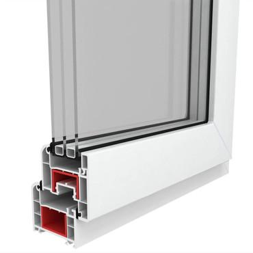 Dreifach Verglast PVC Drehkippfenster+Griff (linke Seite) 600x400mm – Bild 7