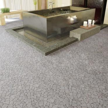 Stein Mosaik Fliesen Marmor Bruchmosaik Naturstein Weiß 0,9 m2 – Bild 1