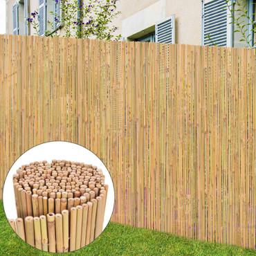 Gartenzaun Bambus 250 x 195 cm – Bild 2