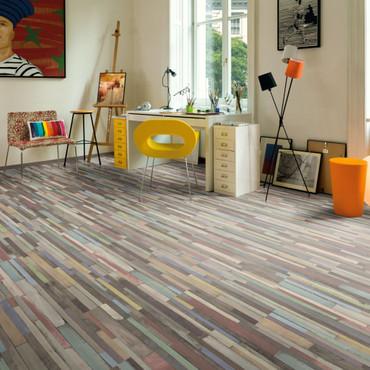 Egger Laminat Dielen 76,88 m² 7 mm Dimas Wood Bunt – Bild 1