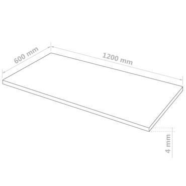 Acrylglasplatten 4 Stk. Klar 60×120 cm 4 mm – Bild 5