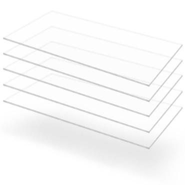 Acrylglasplatten 5 Stk. Klar 60×120 cm 5 mm – Bild 1