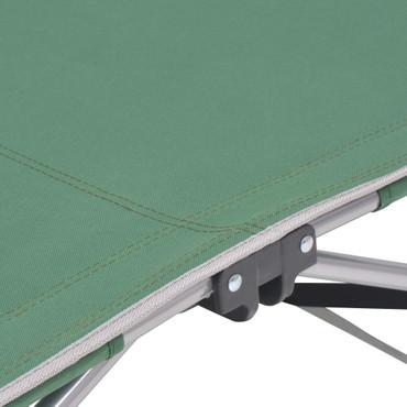 Klappliege Stahl Grün – Bild 5