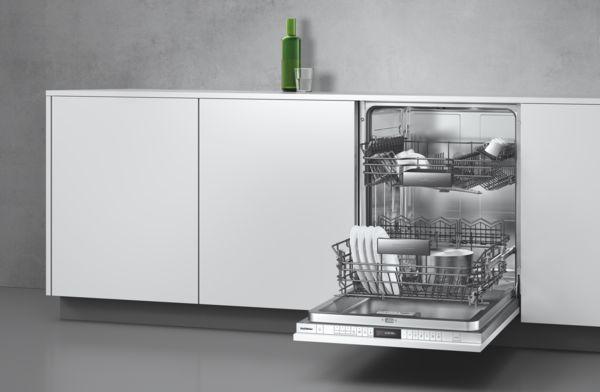 Geschirrspüler-Serie200 Korbsystem und Leichtlauffunktion