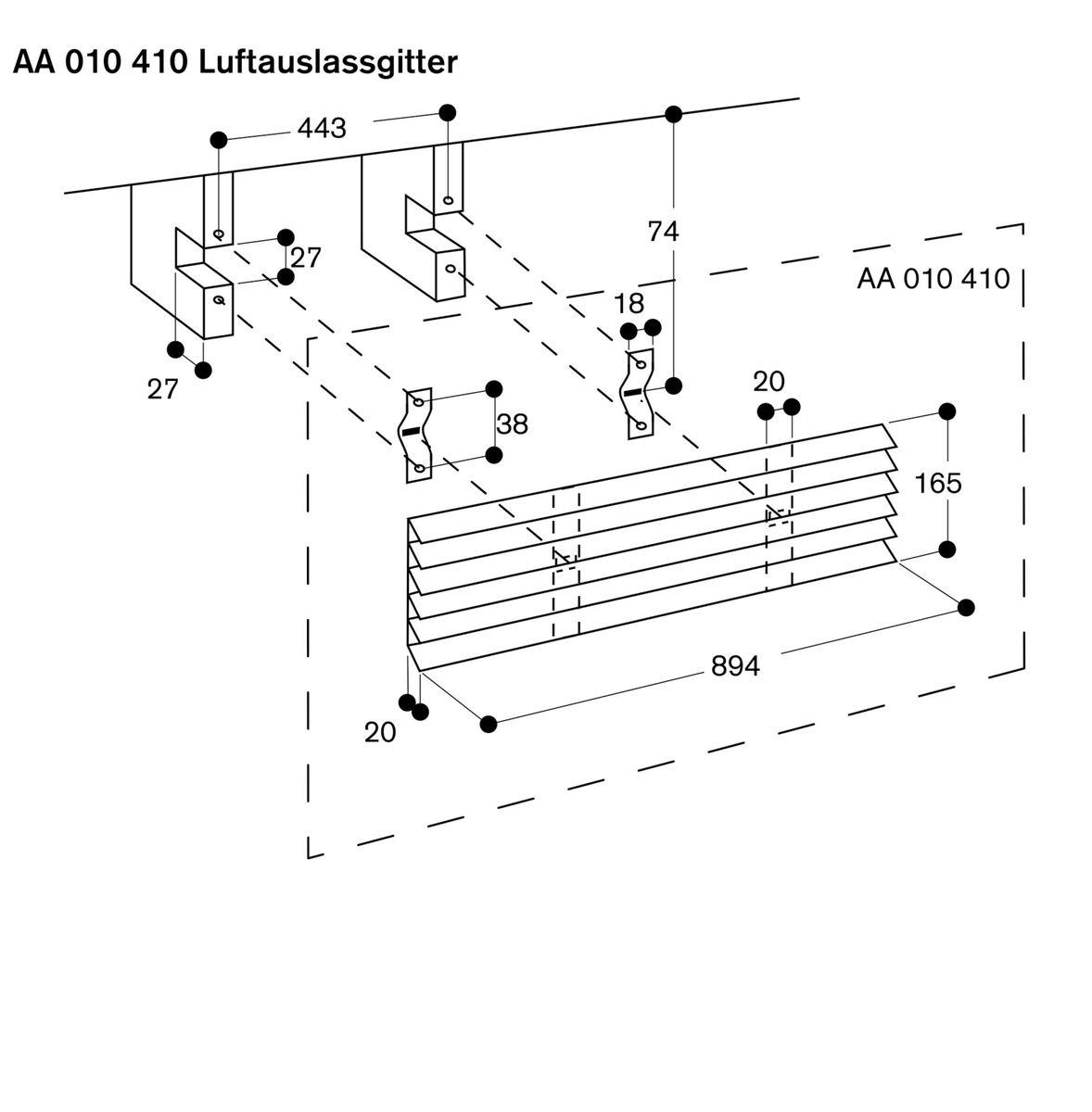 Gaggenau AL400121, Tischlüfter – Bild 5