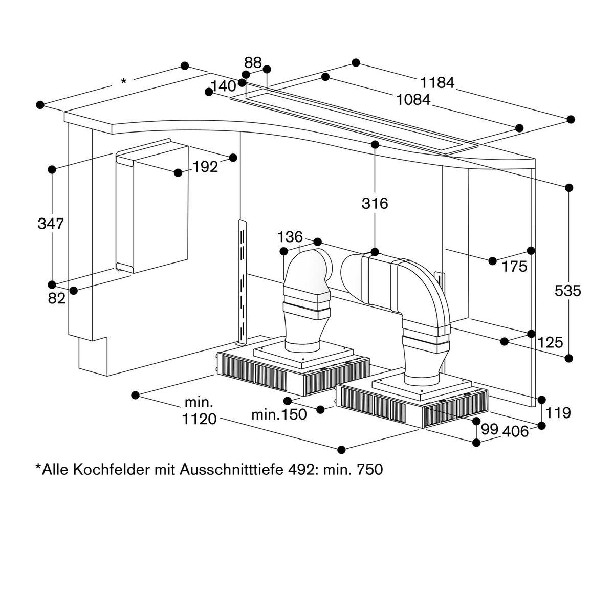 Gaggenau AL400121, Tischlüfter – Bild 8