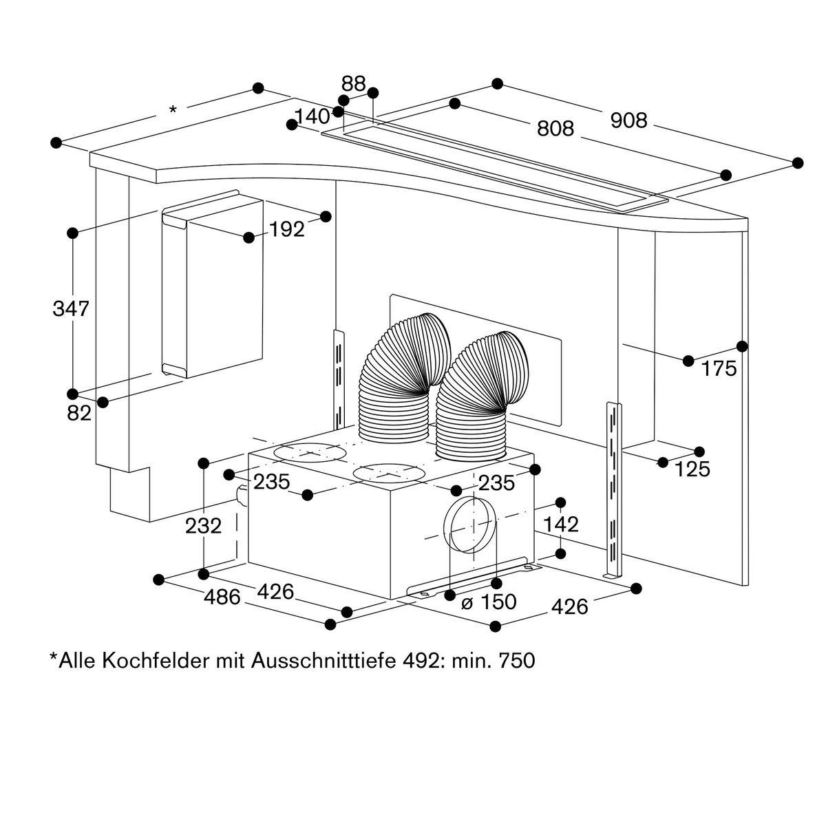 Gaggenau AL400191, Tischlüfter – Bild 18