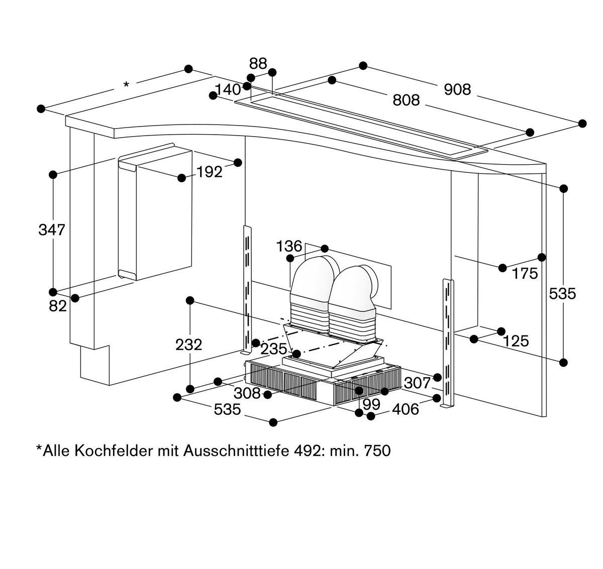 Gaggenau AL400191, Tischlüfter – Bild 6