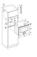 Gaggenau BS450110, Einbau-Kompaktdampfbackofen