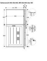 Gaggenau BS455110, Einbau-Kompaktdampfbackofen