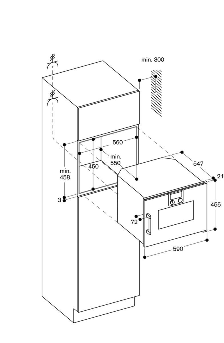 Gaggenau BSP250100, Einbau-Kompaktdampfbackofen – Bild 7