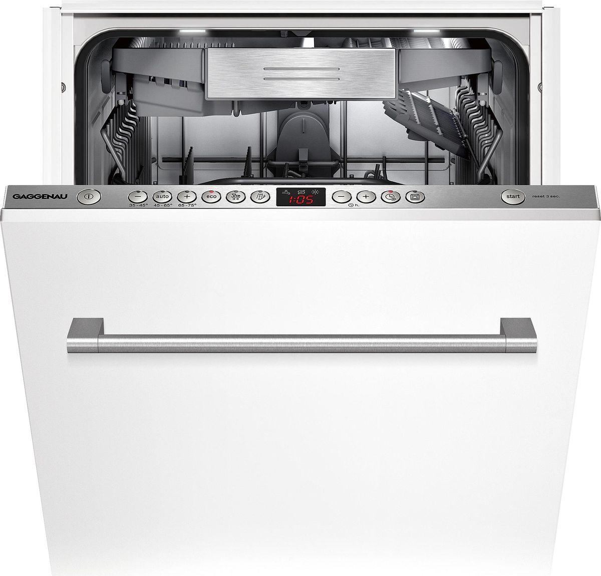 DF250141 Geschirrspüler Serie 200 Voll integrierbar Höhe 81.5 cm, Breite 45 cm – Bild 1