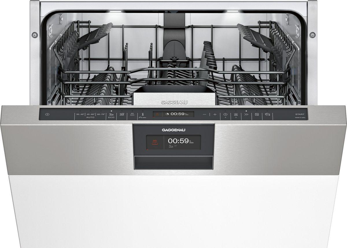 DI261111 Geschirrspüler Serie 200 integrierbar Edelstahlblende Höhe 86.5 cm – Bild 1