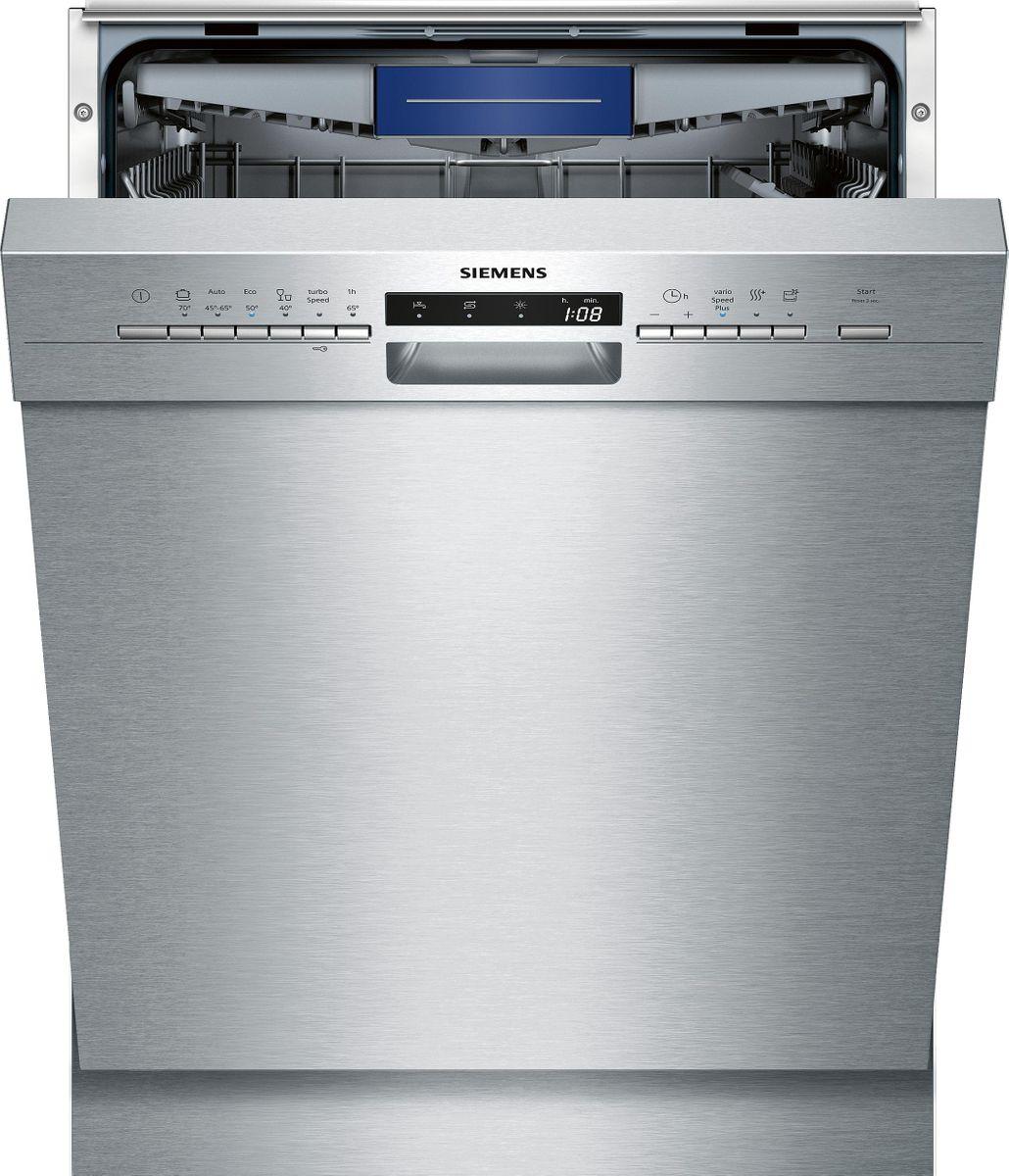 SN436S00KE Unterbaugerät - Edelstahl Geschirrspüler 60 cm Inkl. Sockelblech
